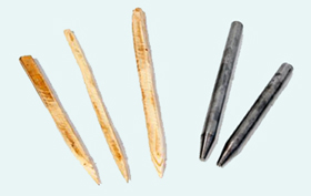 wood-steel-polishing-pins